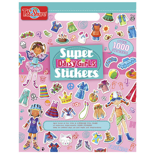Daisy Girls Super Stickers Book | T.S. Shure