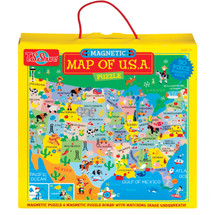 Map of the U.S.A. Magnetic Puzzle | T.S. Shure