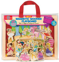 Princess, Ballet, & Fairies Magnetic Wooden Playboard Set | T.S. Shure