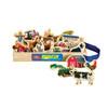 Farm Vehicles & Animals Wooden Magnets - 20 Piece MagnaFun Set   T.S. Shure