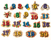 Numbers Wooden Magnets - 20 Piece MagnaFun Set | T.S. Shure
