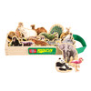 Wild Animals Wooden Magnets - 20 Piece MagnaFun Set | T.S. Shure