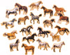 Horse Breeds Wooden Magnets - 20 Piece MagnaFun Set | T.S. Shure