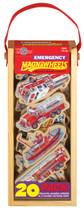 Emergency Vehicles Wooden Magnets - 20 Piece MagnaFun Set | T.S. Shure