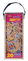 Daisy Girls Wooden Magnets - 20 Piece MagnaFun Set | T.S. Shure