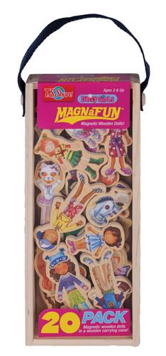 Daisy Girls Wooden Magnets - 20 Piece MagnaFun Set | T.S. Shure