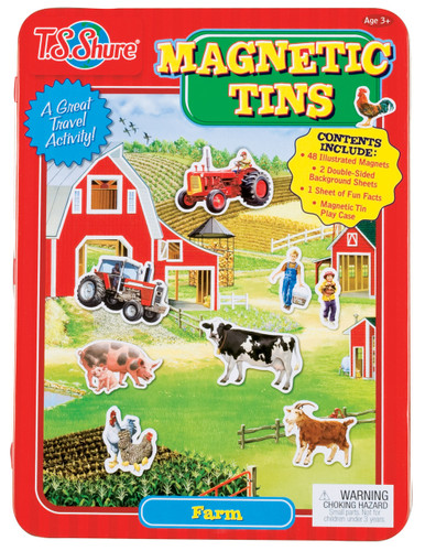 Farm Magnetic Tin Play Set | T.S. Shure
