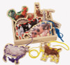 Farm Animals Lacing Cards Activity Set | T.S. Shure