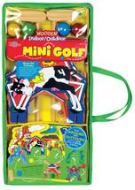 Wooden Indoor & Outdoor Mini Golf Set   T.S. Shure