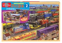 PuzBox  Railroad Adventure: 2 Puzzles in Jumbo Box | T.S. Shure