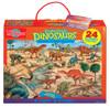 Prehistoric Dinosaurs Jumbo Floor Puzzle | T.S. Shure