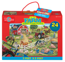 On the Farm Jumbo Floor Puzzle | T.S. Shure
