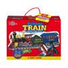 Railroad Train Shaped Jumbo Floor Puzzle | T.S. Shure