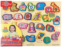 Chunky WorldÇ__¶_¶œÇ_¶½ Alphabet Wooden Puzzle | T.S. Shure