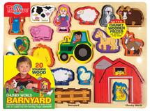 Chunky WorldÇ__¶_¶œÇ_¶½ Barnyard Puzzle | T.S. Shure