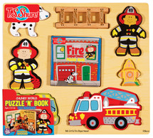 Chunky World Fire Department Puzzy Book | T.S. Shure