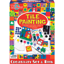 Tile Painting Creativity Set & Book | T.S. Shure