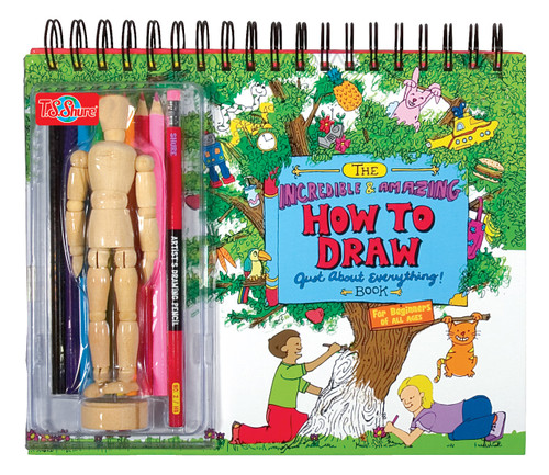 The How to Draw Everything Book   T.S. Shure