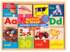 Match N' Snap Wooden Puzzle Cards - ABC's, 123's Shapes, and Colors Set | T.S. Shure