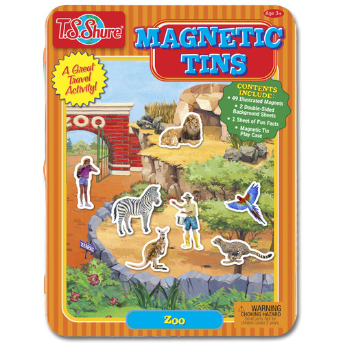 Zoo Magnetic Tin Playset | T.S. Shure