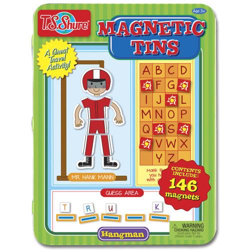 Hangman Game Magnetic Tin Playset | T.S. Shure