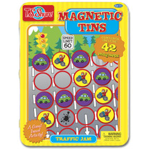Traffic Jam Game Magnetic Tin Playset | T.S. Shure