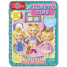 Teeny Tiny Triplets Magnetic Tin Playset | T.S. Shure
