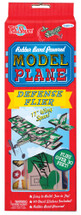 Rubber Band Powered Defense Flier Model Airplane Kit | T.S. Shure