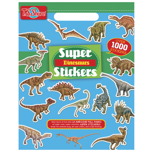 Dinosaur Super Stickers | T.S. Shure