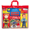 Safety Patrol Wooden Magnetic Dress-Up Heroes | T.S. Shure