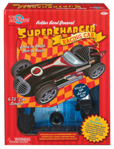 Rubber Band Powered Super Charger Model Racing Car Deluxe Kit | T.S. Shure