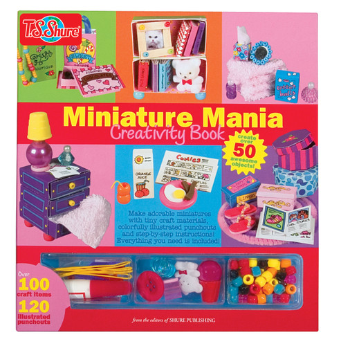 Miniature Mania Creativity Book | T.S. Shure