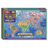 Map of the World Box Puzzle (200 Pieces) | T.S. Shure