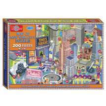 Map of the New York City Box Puzzle (200 Pieces) | T.S. Shure