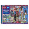 Map of Chicago Box Puzzle (200 Pieces) | T.S. Shure