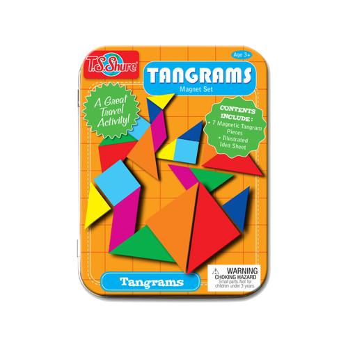Tangrams Magnet Set Mini Tin | T.S. Shure