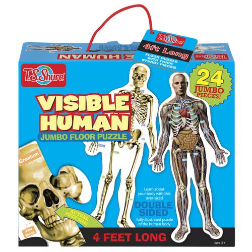 Visible Human Jumbo Floor Puzzle | T.S. Shure