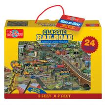 Classic Railroad Jumbo Floor Puzzle | T.S. Shure