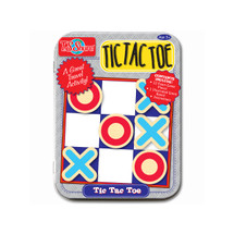 Tic Tac Toe Magnetic Game Mini Tin | T.S. Shure