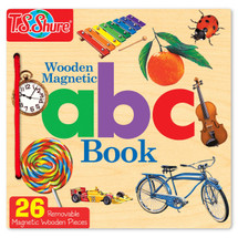 ABC Wooden Magnetic Book   T.S. Shure