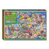 Map of the Boston Box Puzzle (200 Pieces) | T.S. Shure