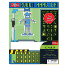 HangÇ___Ç®¶_Ç__Ç_¶¸EmÇ___Ç®¶Ç®¶œÇ__Ç®¶½ Robot Wooden Magnetic Hangman Game | T.S. Shure