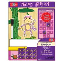 HangÇ___Ç®¶_Ç__Ç_¶¸EmÇ___Ç®¶Ç®¶œÇ__Ç®¶½ Monkey Wooden Magnetic Hangman Game | T.S. Shure