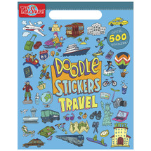 Doodle Travel Sticker Book | T.S. Shure