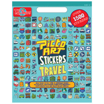 Picto Art Travel Sticker Book | T.S. Shure