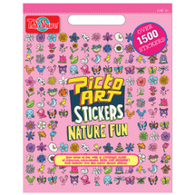 Picto Art Nature Fun Sticker Book | T.S. Shure