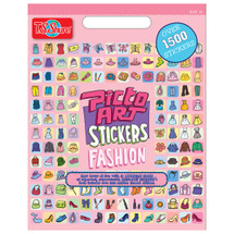 Picto Art Fashion Sticker Book | T.S. Shure