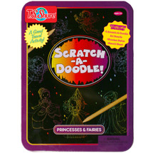 Scratch-A-Doodle Princesses & Fairies Activity Tin | T.S. Shure