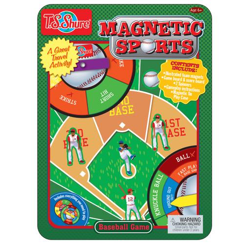 Baseball Game Magnetic Sports Tin | T.S. Shure