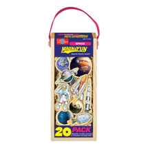 Space Wooden Magnets - 20 Piece MagnaFun Set | T.S. Shure